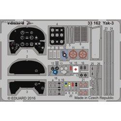 Yak-3 - 1/32 ZOOM painted PE set