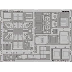 X-1 upgrade set - 1/48 Fotoleptaný set