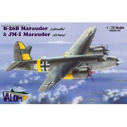 B-26B Marauder (Luftwaffe) & JM-1 Marauder (US Navy) - 1/72 kit