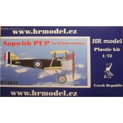 Sopwith Pup Le Prieur Rockets - 1/72 kit