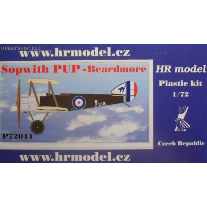Sopwith Pup Beardmore - 1/72 kit