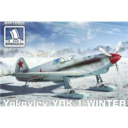 Yak-1 Winter - 1/72 kit