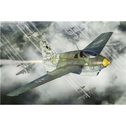 Me-163B Komet (two in box) - 1/144 kit