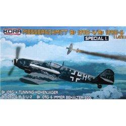 """Messerschmitt Bf 109G-4/G-6 """"Special I.""""  - 1/72 kit"""