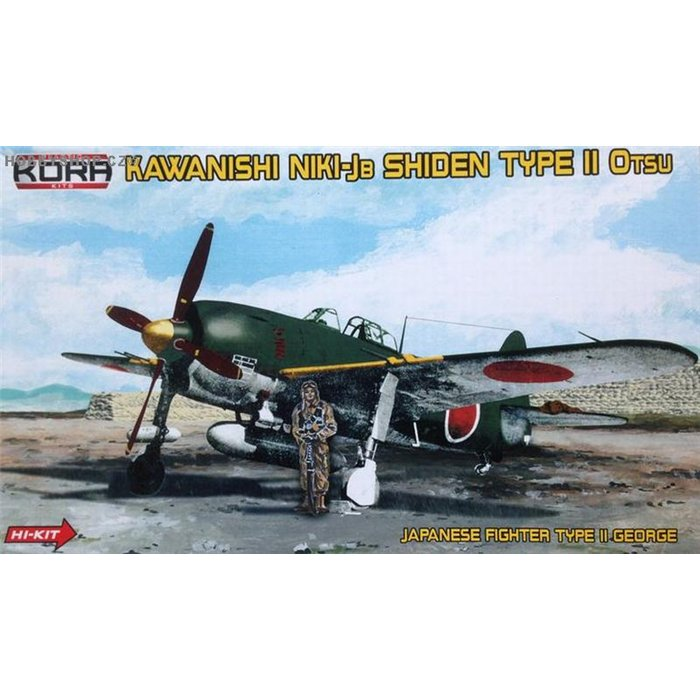 Kawanishi N1K1-Jb Shiden/George  - 1/72 kit