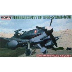 """Messerschmitt Bf 109G-4/R-3&G-6/R-3 """"Long range recce""""  - 1/72 kit"""