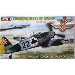 """Messerschmitt Bf 109G-10 """"Croatian service"""" - 1/72 kit"""