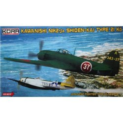 Kawanishi N1K2-J Shiden-kai/George - 1/72 kit
