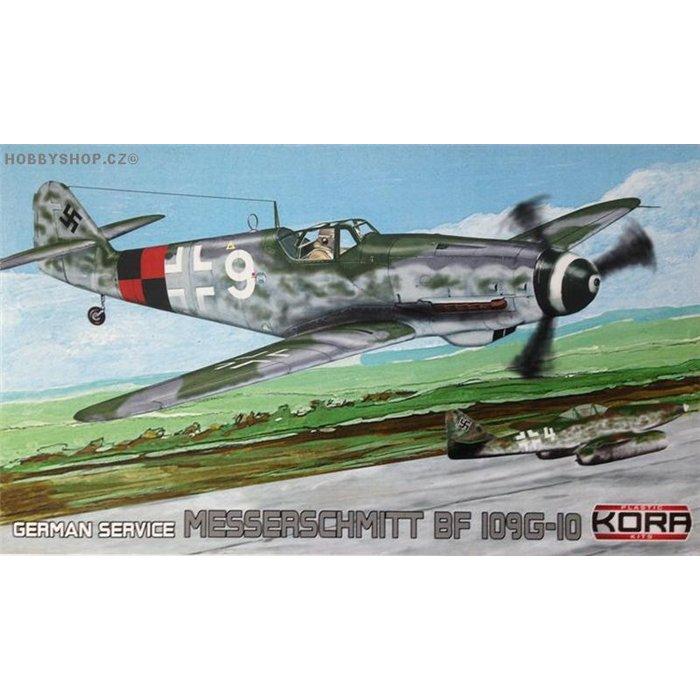 """Messerschmitt Bf 109G-10 Erla """"German service"""" - 1/72 kit"""
