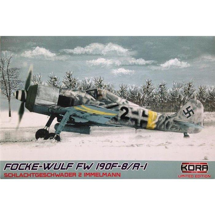 """Focke-Wulf Fw 190F-8/R-1 """"SG 2 Immelman"""" - 1/72 kit"""