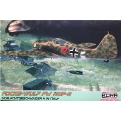 "Focke-Wulf Fw 190F-8 ""SG 4 in Italy"" - 1/72 kit"