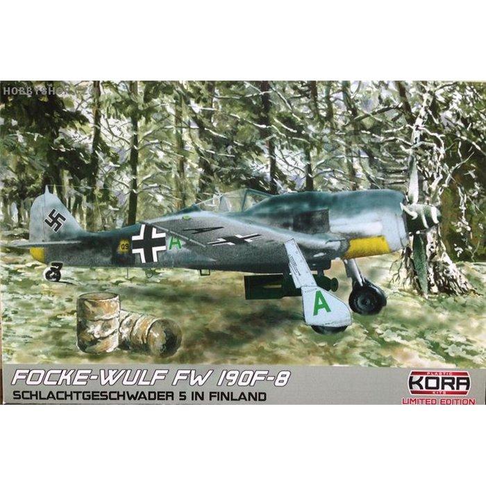 """Focke-Wulf Fw 190F-8 """"SG 5 in Finland"""" - 1/72 kit"""