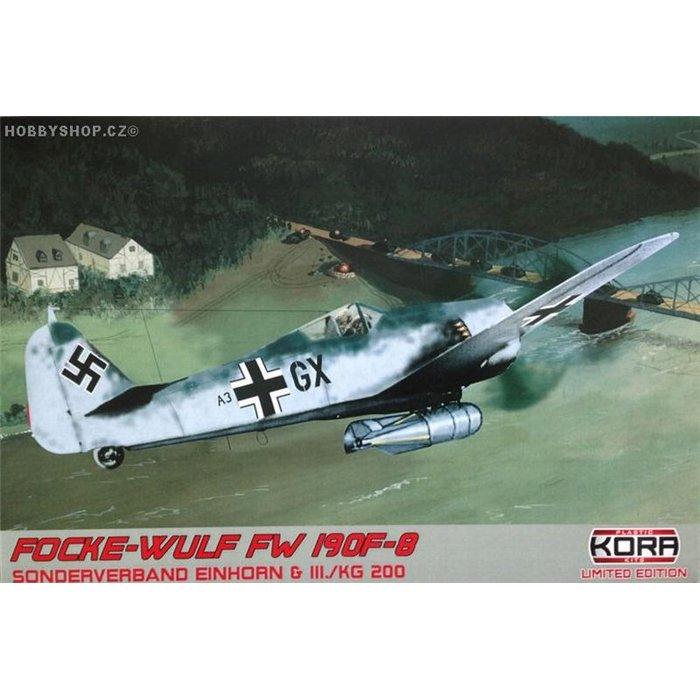 """Focke-Wulf Fw 190F-8 """"Sonderverband Einhorn&III./KG 200"""" - 1/72 kit"""