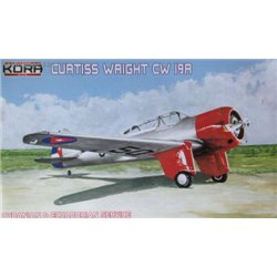 Curtiss-Wright CW-19R Cuban & Ecuadorian - 1/72 kit