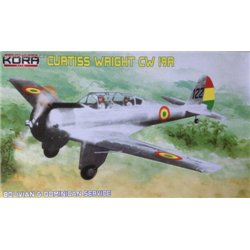 Curtiss-Wright CW-19R Bolivian & Dominican rep. - 1/72 kit