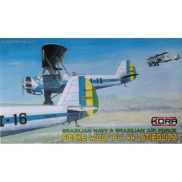 Focke-Wulf Fw 44J Brazilian - 1/72 kit