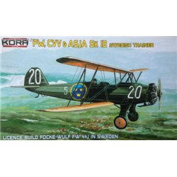 Focke-Wulf Fw 44J / Sk 12 Swedish - 1/72 kit