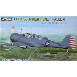 Curtiss-Wright SNC-1 Falcon US Navy - early insignia - 1/72 kit