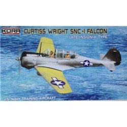Curtiss-Wright SNC-1 Falcon US Navy - late insignia - 1/72 kit