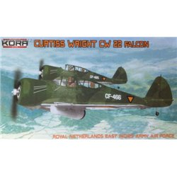 Curtiss-Wright CW-22 Falcon Dutch East India - 1/72 kit
