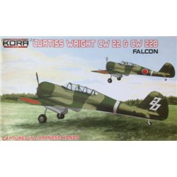 Curtiss-Wright CW-22 & CW-22B Falcon Japanese - 1/72 kit
