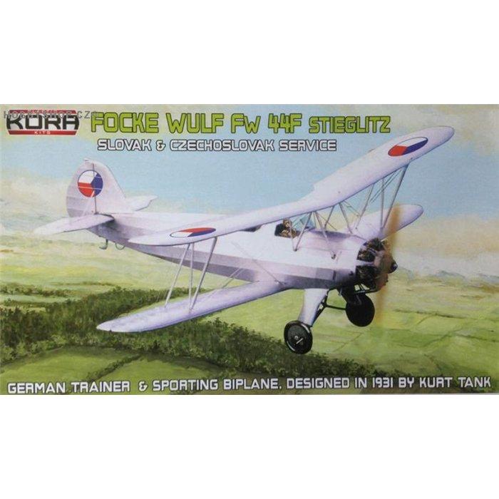 Focke-Wulf Fw 44F Slovak & Czechoslovak - 1/72 kit