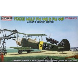 Focke-Wulf Fw 44D/F German liaison & courier - 1/72 kit