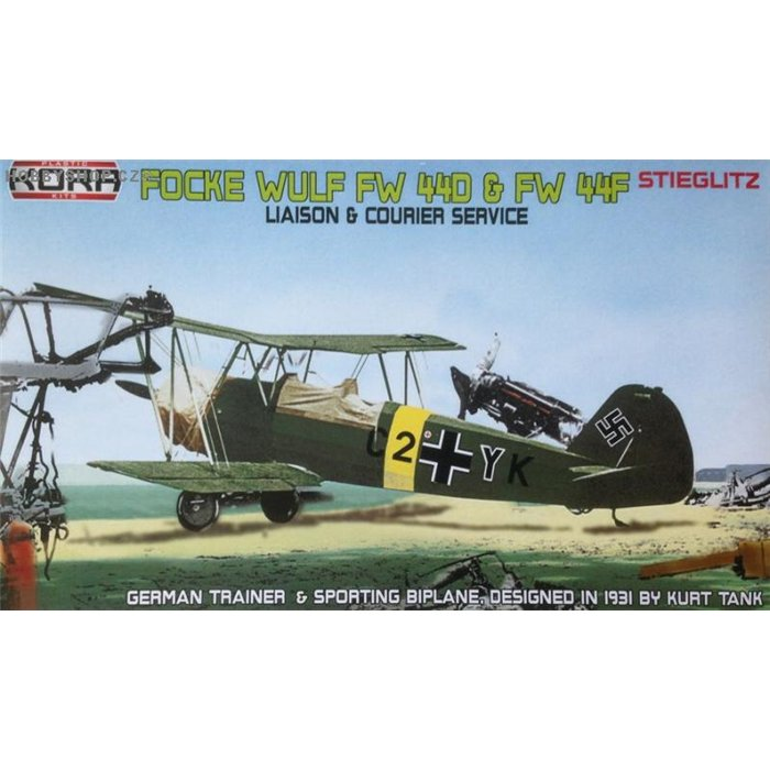 Focke-Wulf Fw 44D/F German liaison & courier - 1/72 kit