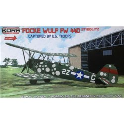 Focke-Wulf Fw 44D USAAF captured special marking Hi-Kit - 1/72 kit