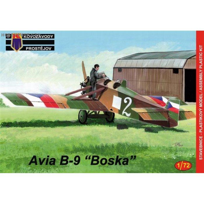 Avia B.9 Boska - 1/72 kit