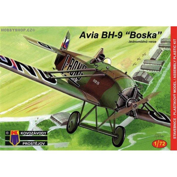 Avia BH-9 Boska Jednomístná - 1/72 kit
