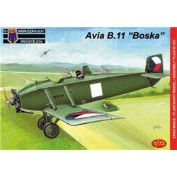 Avia B.11 Boska - 1/72 kit