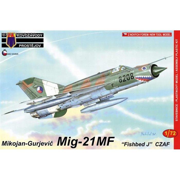 Mig-21MF CZAF - 1/72 kit