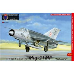 Mig-21MF Fishbed J - 1/72 kit