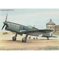 Ambrosini SAI 207 Italy and Luftwaffe - 1/72 kit
