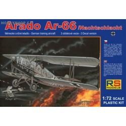 Arado 66 Nachtschlacht single-seater - 1/72 kit