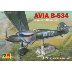Avia B-534 IV. version - 1/72 kit