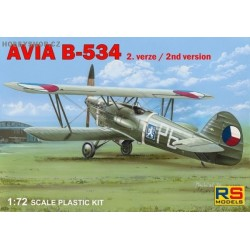 Avia B-534 II. version - 1/72 kit