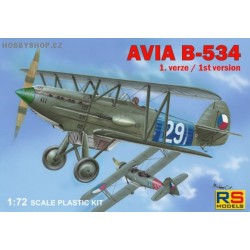 Avia B-534 I. version - 1/72 kit