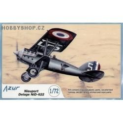 Nieuport Delage NiD-622 - 1/72 kit