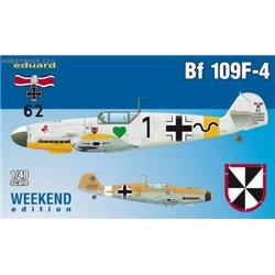 Bf 109F-4 - 1/48 kit