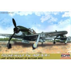 Focke-Wulf Fw 190F-9/R-1 - 1/72 kit