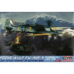 Focke-Wulf Fw 190F-9 Panzerblitz I Late Hi-Kit - 1/72 kit