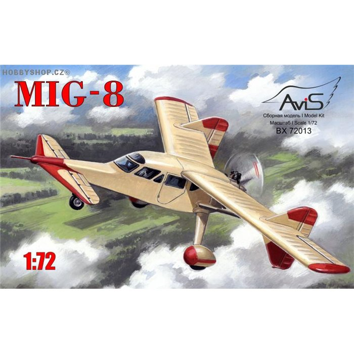 MiG-8 - 1/72 kit