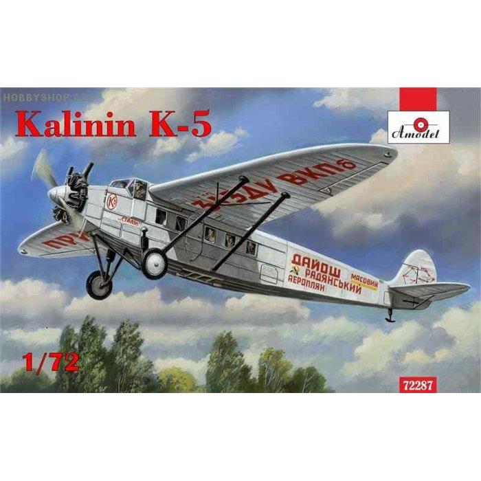 Kalinin K-5 - 1/72 kit