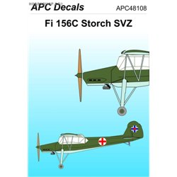 Fieseler Fi 156 Storch SVZ - 1/48 decal