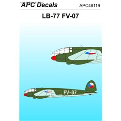 Heinkel He 111 FV-07 - 1/48 decal