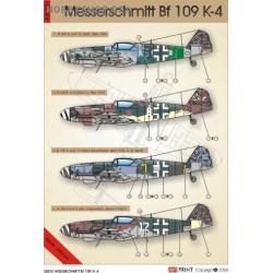 Me 109 K-4 - 1/32 decals