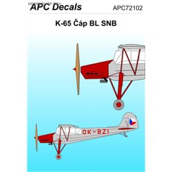 K-65 BL SNB - 1/72 decal
