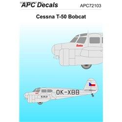 Cessna T-50 Bobcat - 1/72 decal